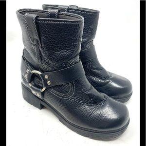 Harley Davidson Harness Black Boots 1981